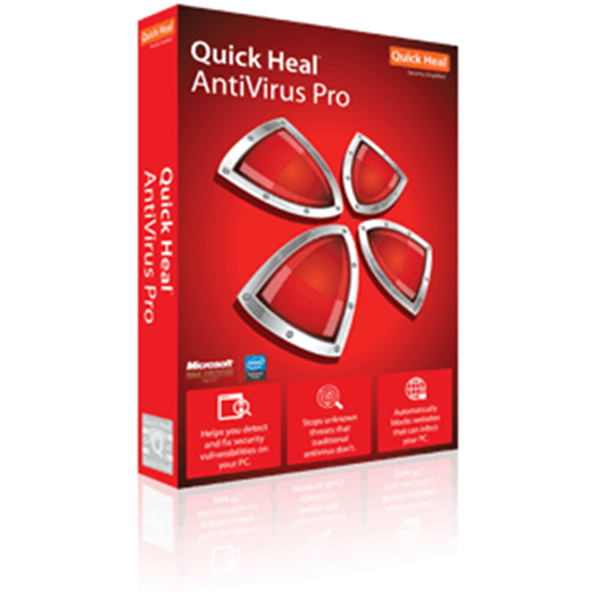 Quick Heal Antivirus Pro - 1 User - 1 Year